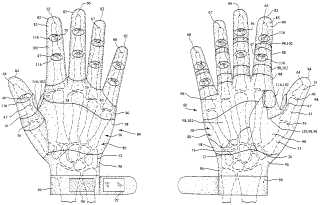 Glove from Dragons' Den invention drawing