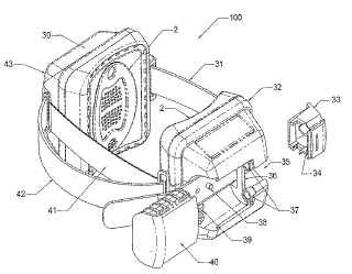 Scram alcohol monitor patent image