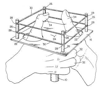 Thumb wrestling patent