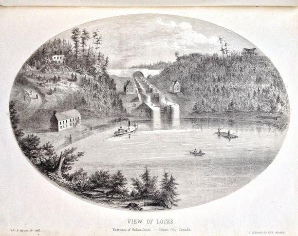 Rideau Locks (Hunter's Scenery)