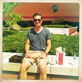 British Library Summer_Reader Tim