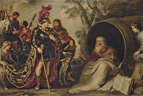 Cornelis de Vos, Alexander and Diogenes