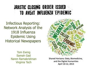 Infectious Reporting scrnsht
