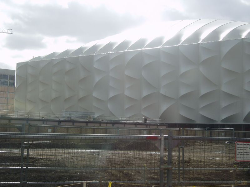 White olympic thing