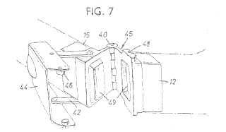 Bickerton bicycle patent drawing