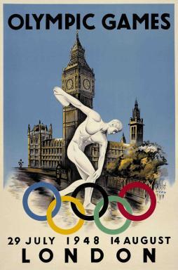 1948 London Olympics logo