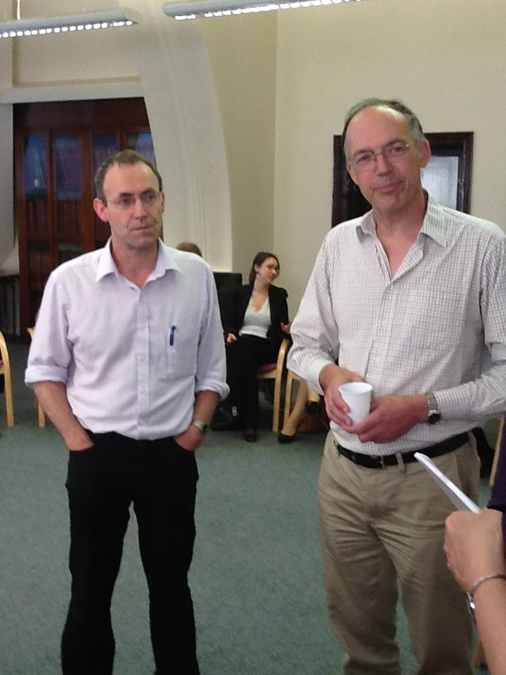 Steve van Dulken at Leeds talk