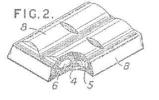 Aero chocolate patent drawing