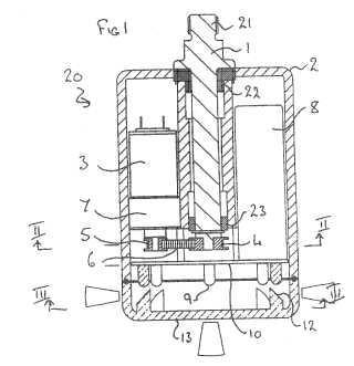 Pedalite patent drawing