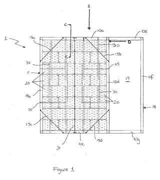 Modular straw bales for construction patent image