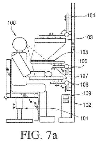 Adjustable virtual reality system patent