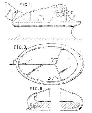 Hovercraft patent
