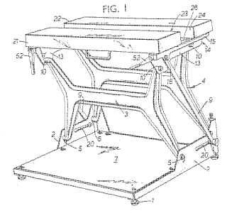 British patent 1267032 drawing