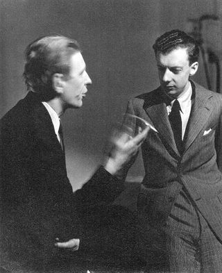 Britten (right) and Auden in New York in 1941