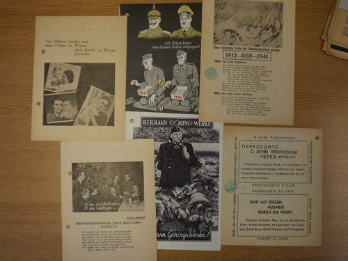 Anti-German propaganda leaflets