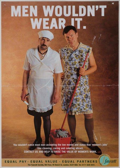 WEB Men wouldn't wear it © The Fawcett Society