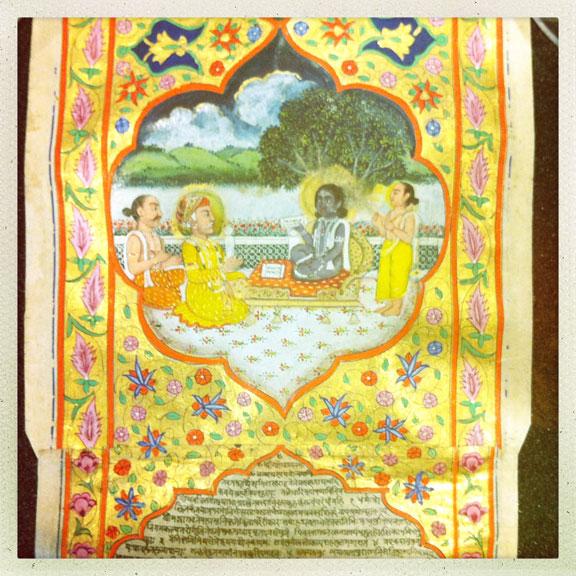 Bhagavata-Purana-manuscript