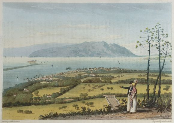View of Kingston and Port Royal