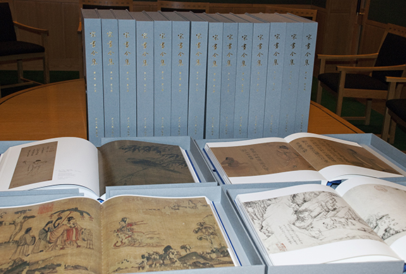 Picture of the donated books