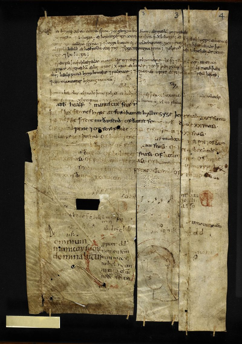 The so-called Ely Farming Memoranda, British Library Additional MS 61735