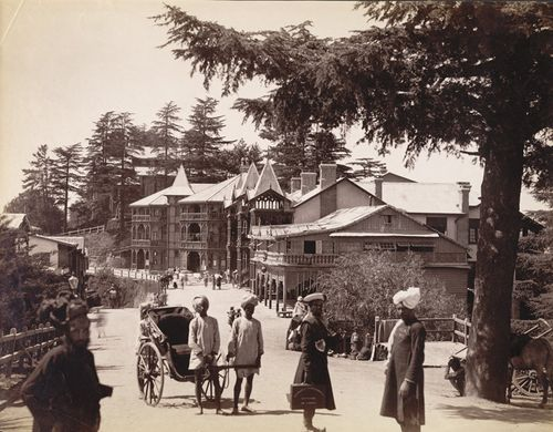 Simla post office