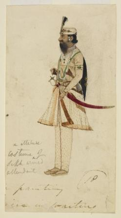Sikh soldier