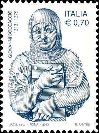Boccaccio stamp