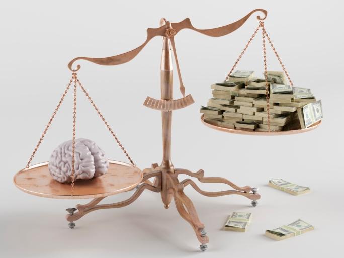 Brains vs Cash