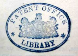 Type 2 Patent Office stamp