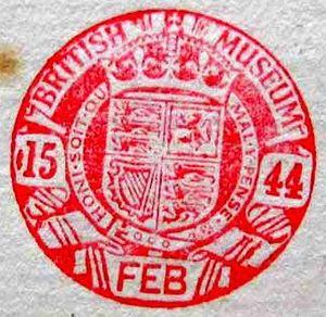 Type 3 round stamp