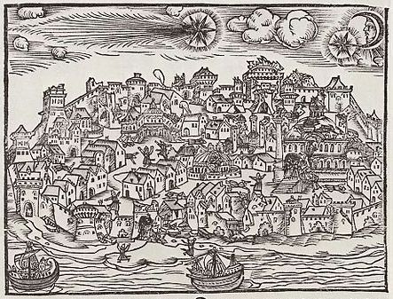 1556_comet_and_earthquake_in_Constantinople Cropped (BT)
