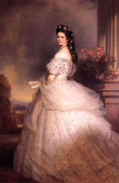 Empress Elisabeth by Winterhalter