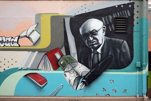 Reich-Ranicki graffiti