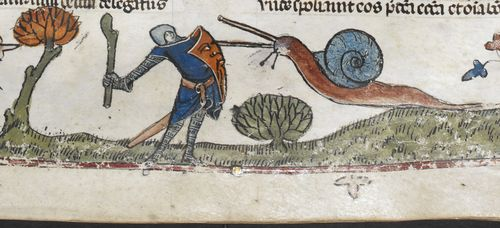 Knight Versus Snail Round Three (the Snail is Winning)