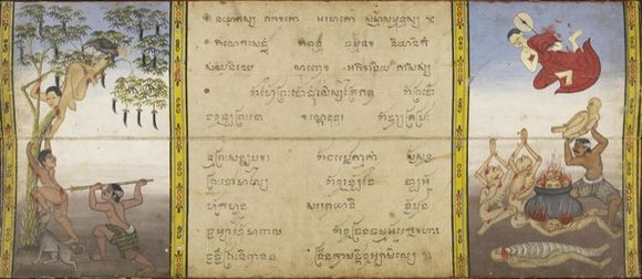 Phra Malai MS British Library hell_720