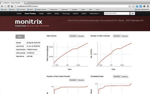 Monitrix screenshot