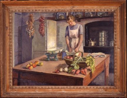 Copy of 28_(006) Grace Higgens by Vanessa Bell (c) The Estate of Vanessa Bell courtesy of Henrietta Garnett for web