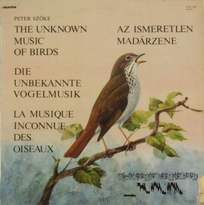 Peter+Szke+The+Unknown+Music+Of+Birds