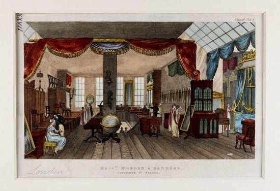 Messrs Morgan and Sanders, Furniture
