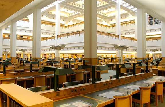 British Library Reading Rooms
