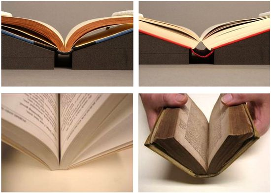 Opening characteristics of books
