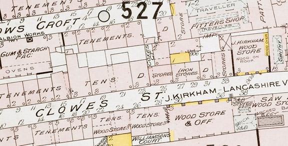 Goad Manchester Clowes St maps_145_b_17_(3)_f042r