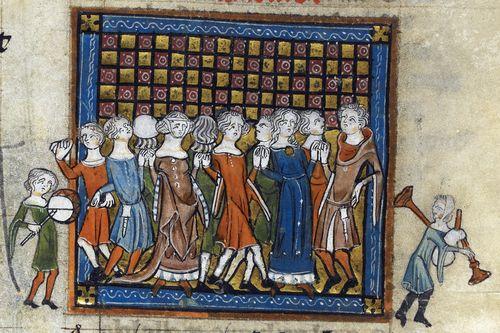 Image result for medieval manuscript generosity