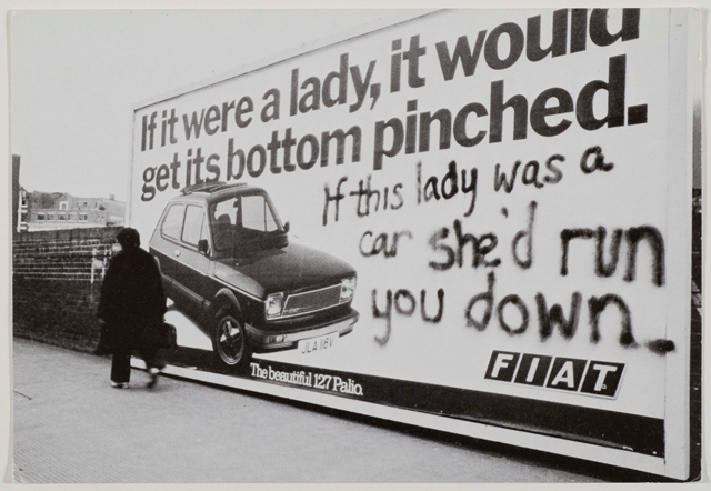SMALL If this lady was a car photograph © Jill Posener
