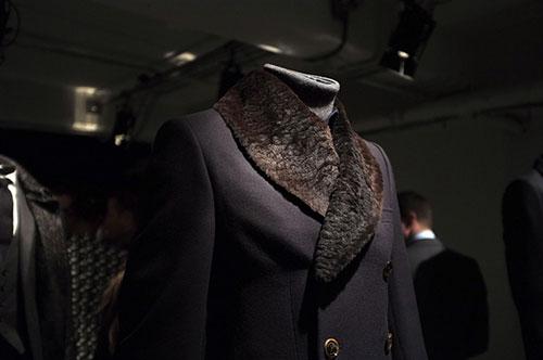 Crombie_LCM14_Fur-collar-coat