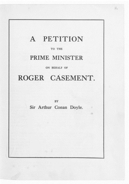 Casement_petition