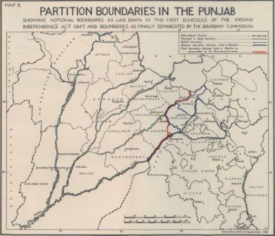 Punjab boundary