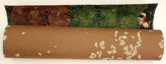 Rolled painting