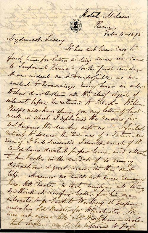 Umston letter