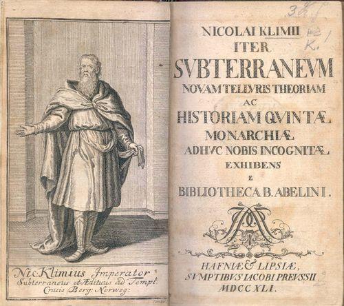 Nicolai Klimii iter subterraneum (Holberg)